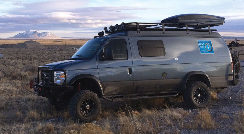 A 2014 Ford E 350 Sportsmobile Van Available For Rent From Adventure Travel Sport Rentals Courtesy Of