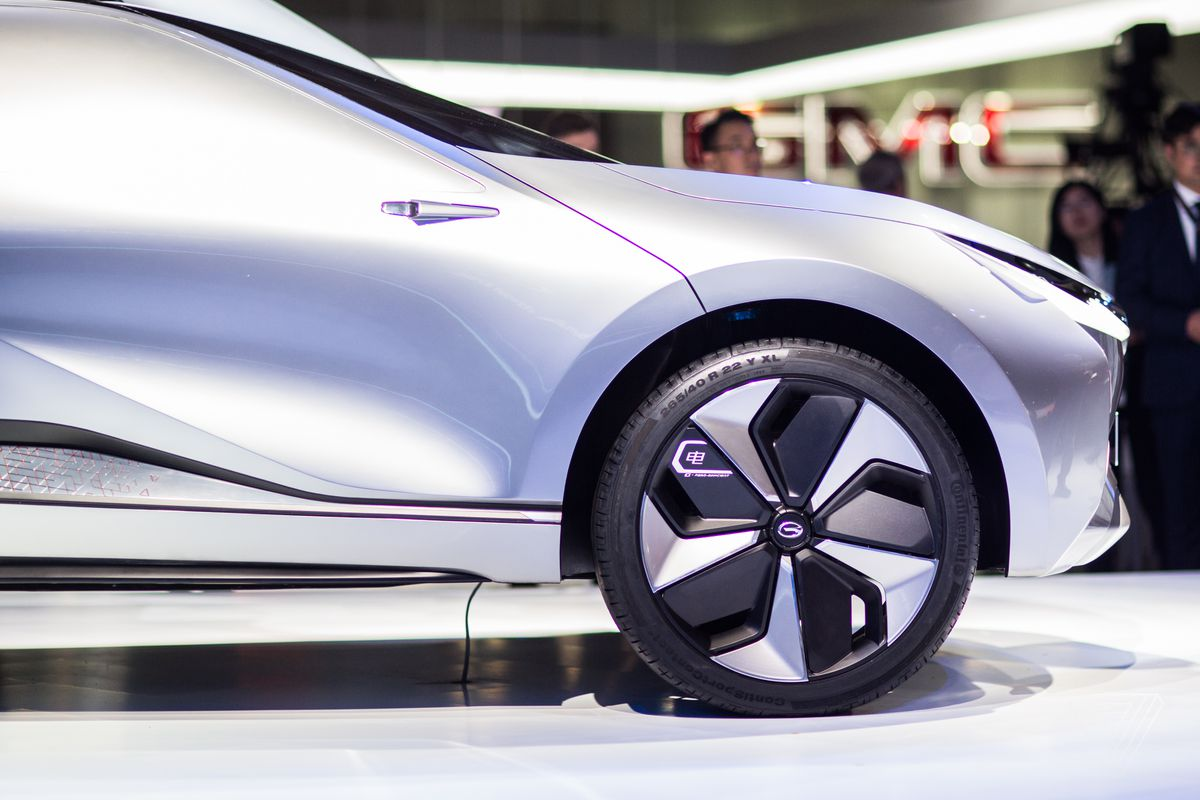 The Enverge Is A Deadly Looking Electric Car From A Company You Ve