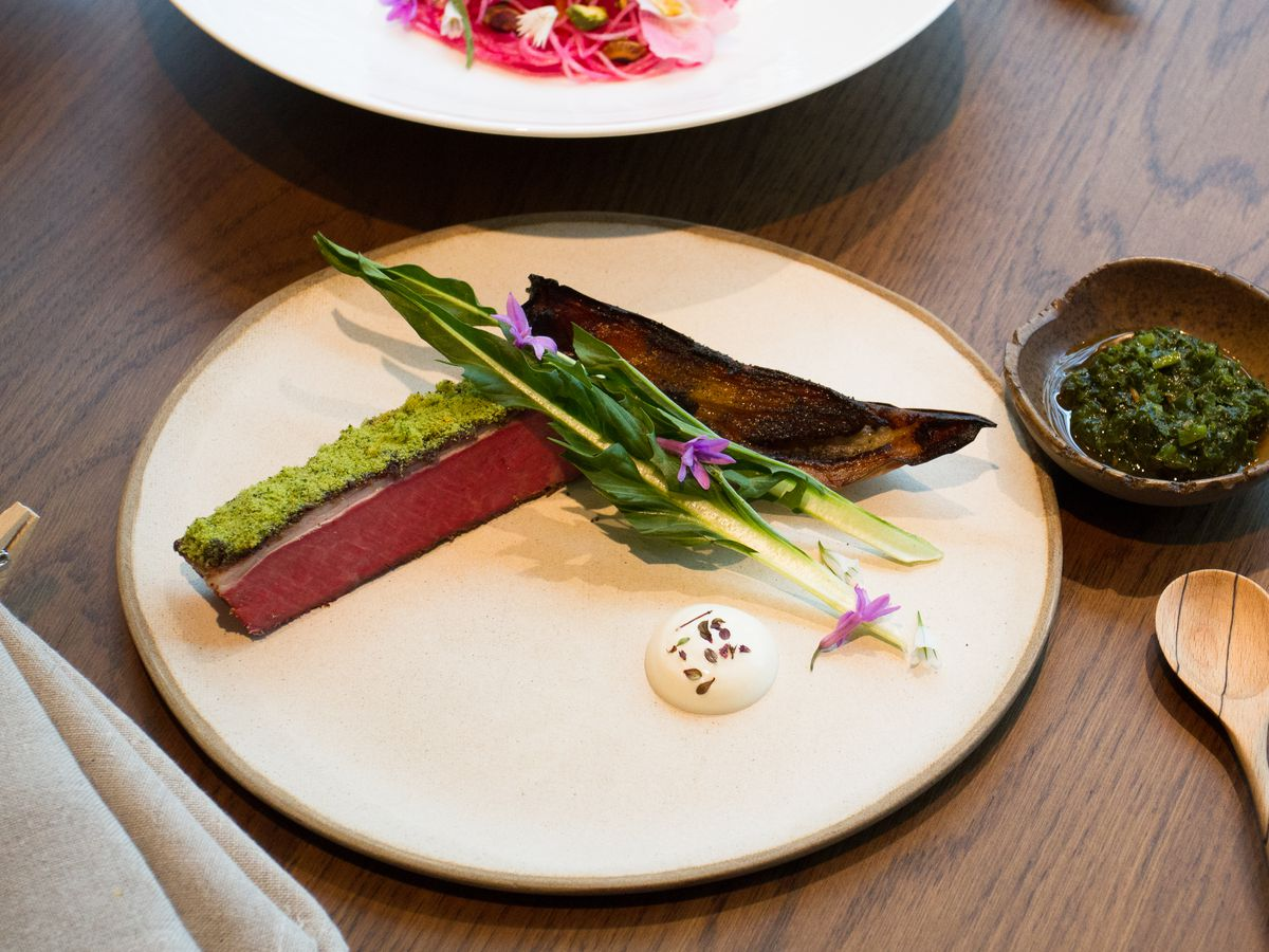 Lamb at Hide, by chef Ollie Dabbous