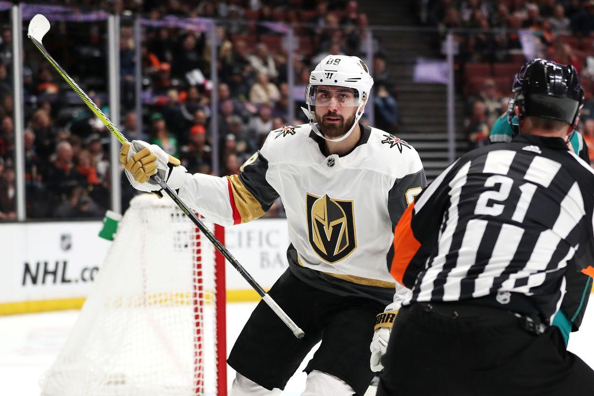 Vegas Golden Knights v Anaheim Ducks