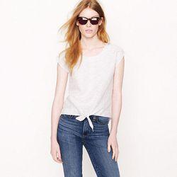 "<a href=""http://www.jcrew.com/AST/Navigation/Sale/AllProducts/PRDOVR~82510/99102699143/ENE~1+2+3+22+4294967294+20~540~~20+17~90~~~~~~~/82510.jsp"">Striped tie front shirt</a>, $48.99 (was $135.00)"
