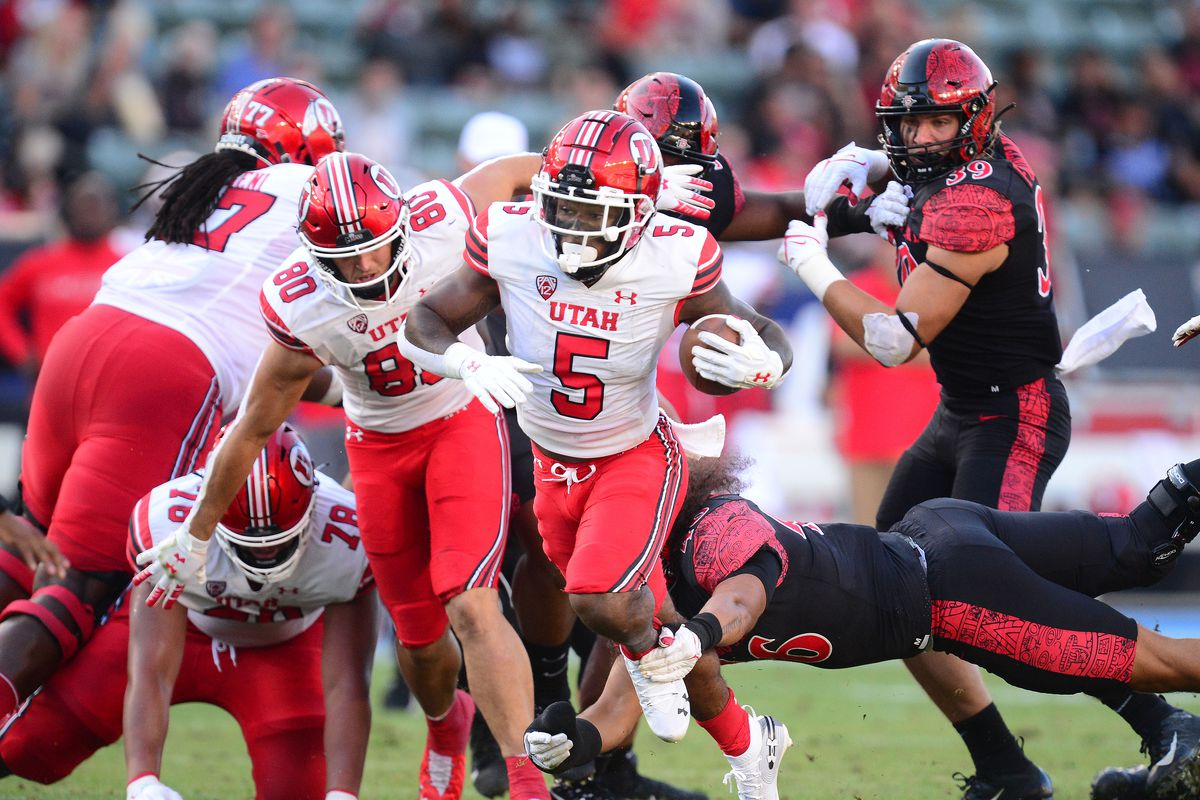NCAA Football: Utah at San Diego State