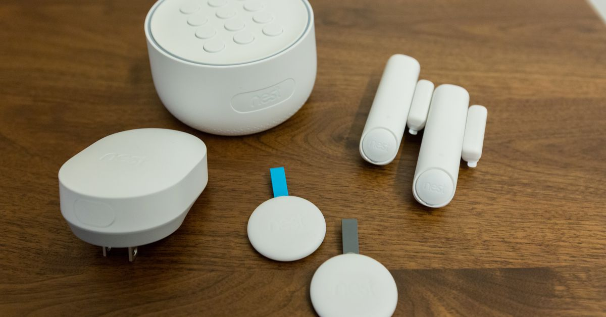 Google discontinues its Google Nest Secure alarm system - The Verge