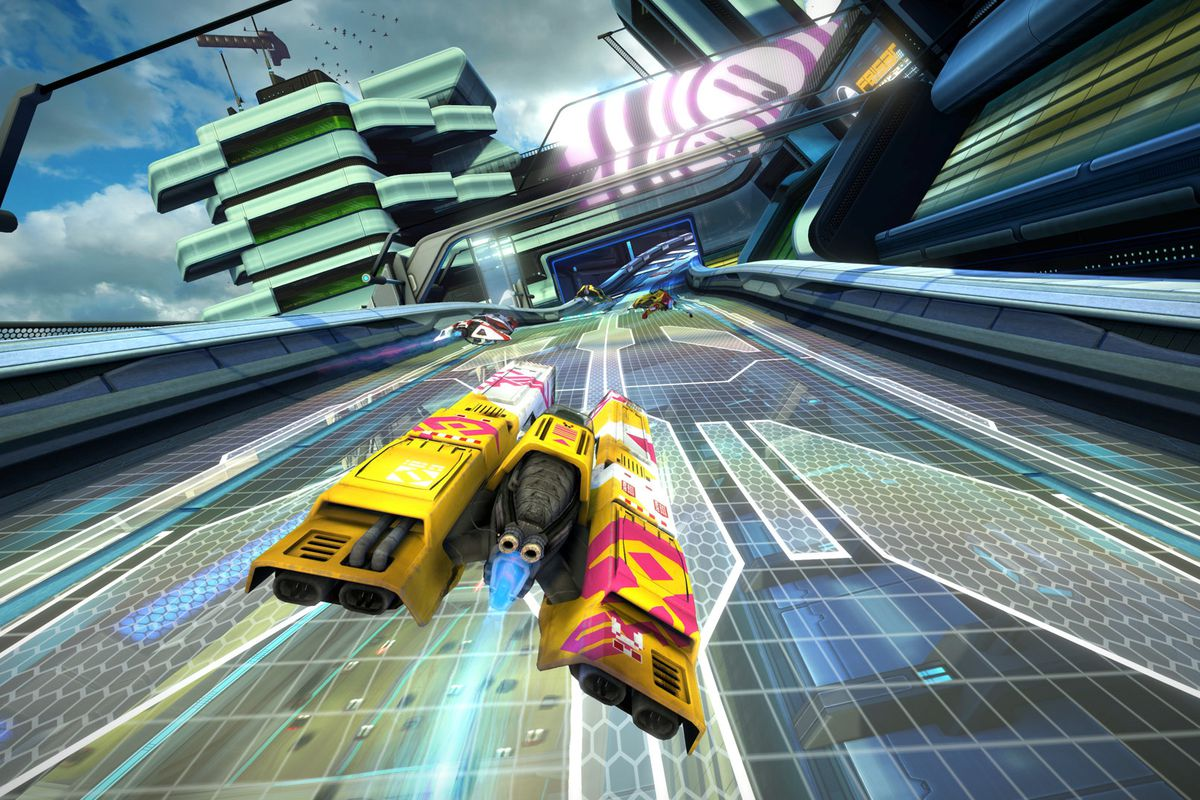 WipEout Omega Collection gets a free VR update in 2018