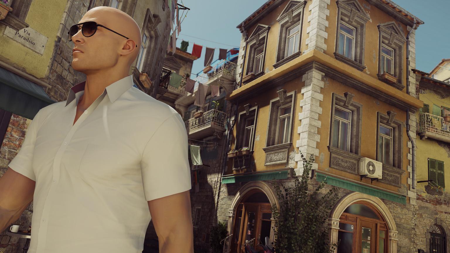 Hitman Episode 2 - Agent 47 in Sapienza streets