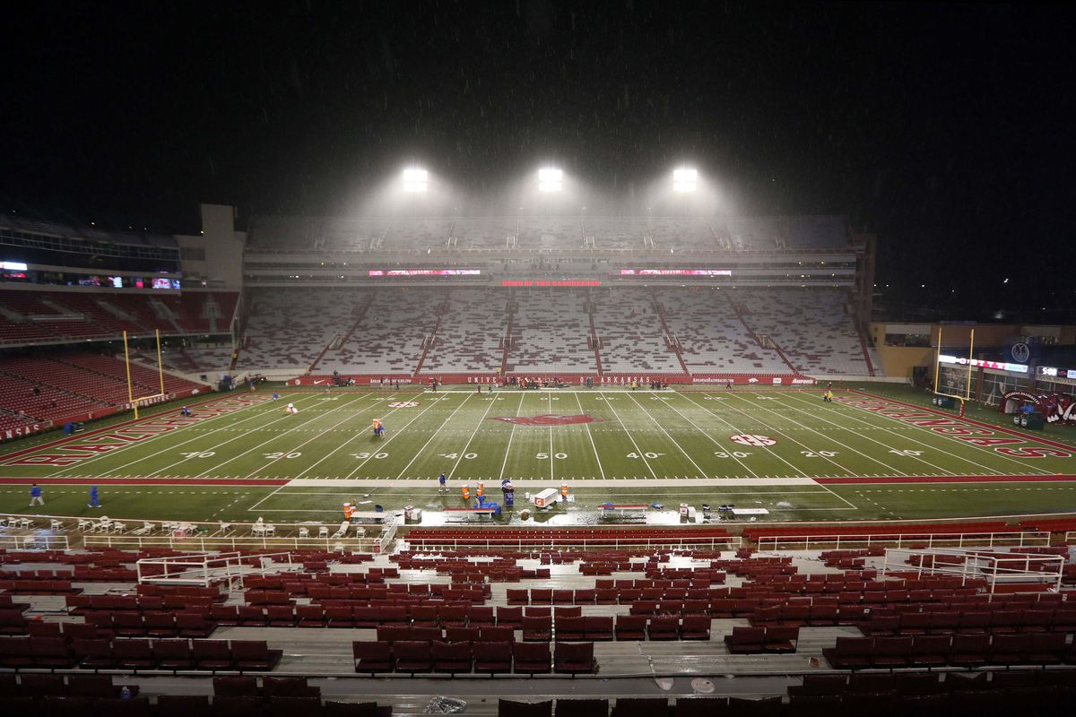 Well ... Mizzou MIGHT play in Fayetteville one day...