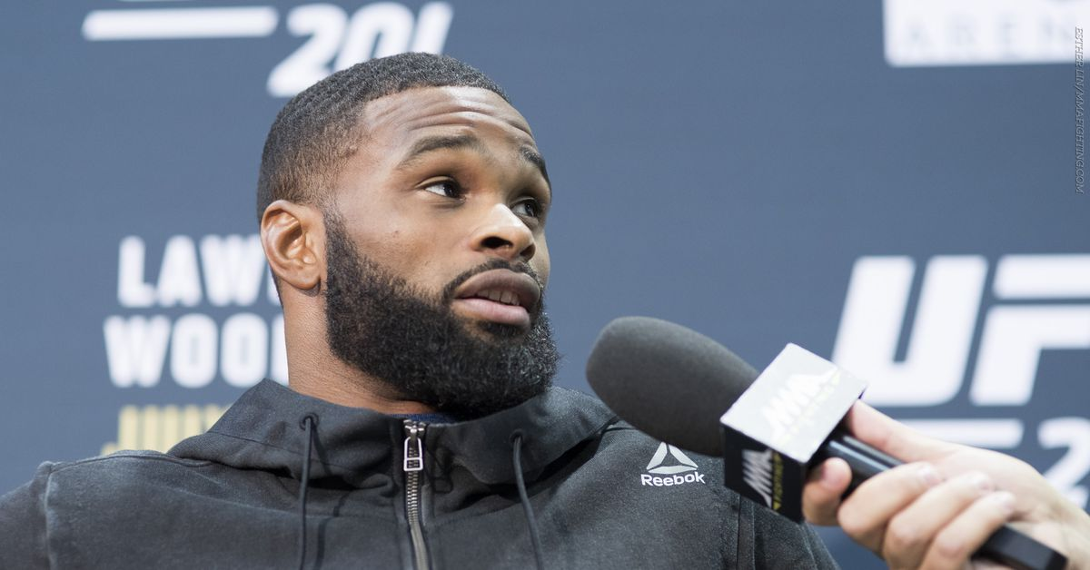 Morning Report: Tyron Woodley announces that he's getting the 'I love Jake Paul' tattoo this weekend