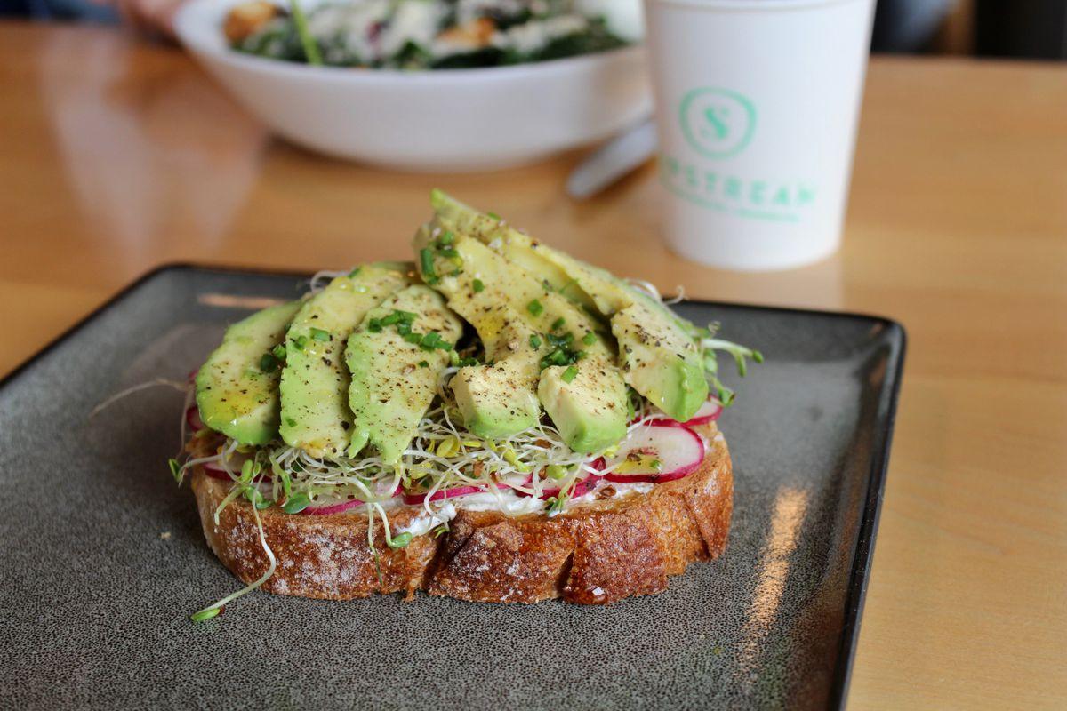 Avocado toast from Slipstream