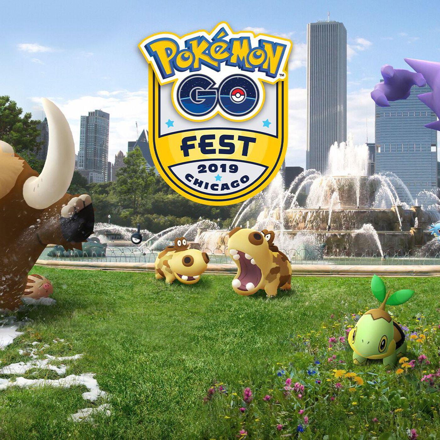 Pokémon Go Fest 2019: dates, cities, and ticket sales announced