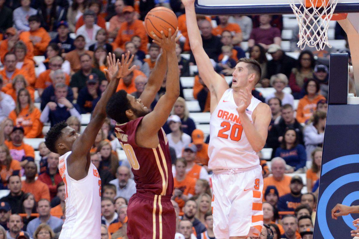 NCAA Basketball: Elon University at Syracuse