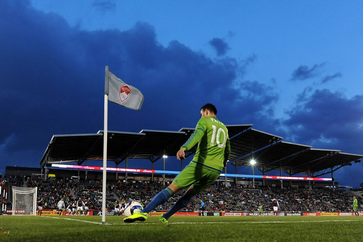 Marco Pappa and the Seattle Sounders come to Columbus on Saturday.