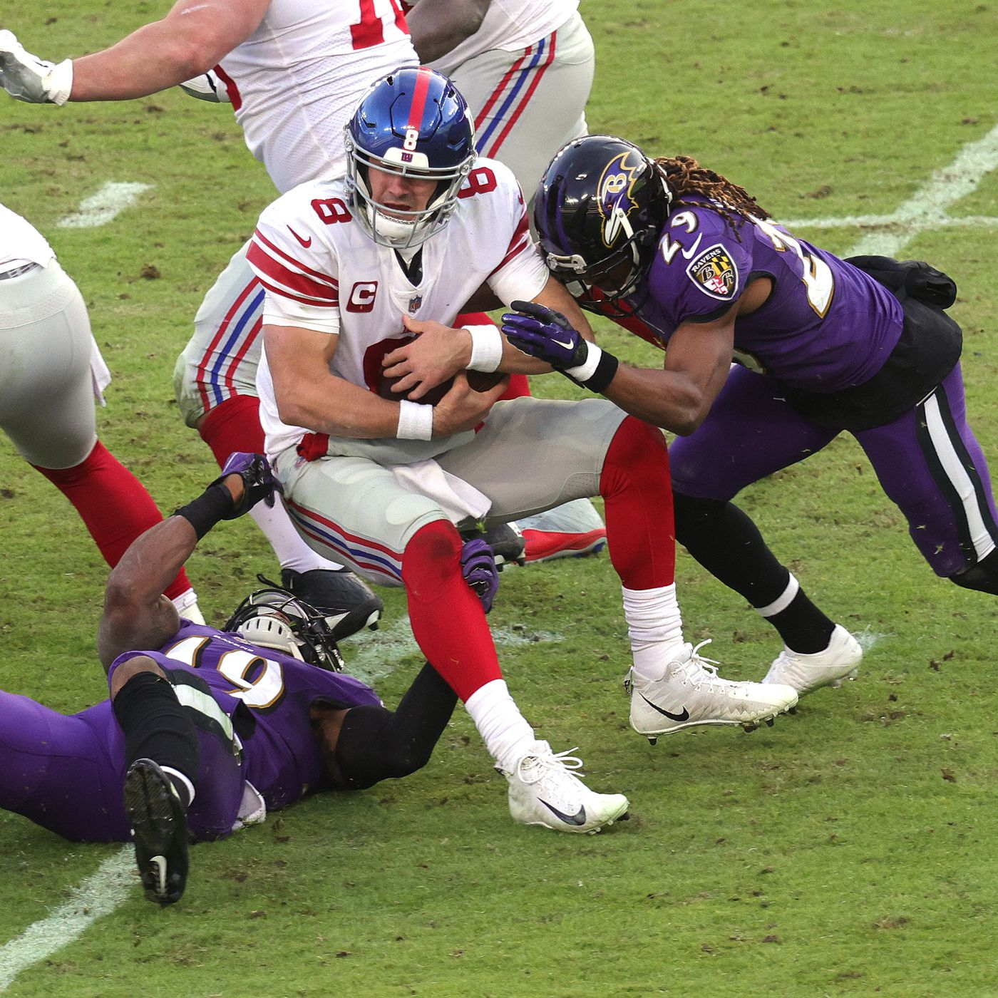 Five Plays That Changed The Game Against The Baltimore Ravens Big Blue View