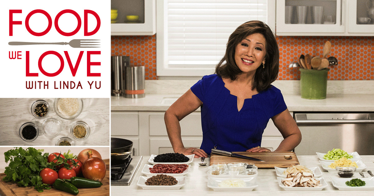 Join Linda Yu every week for cooking and conversation on Food We Love.