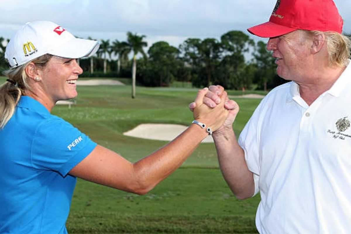 Lpga Star Suzann Pettersen Says Donald Trump Cheats Like Hell At Golf Chicago Sun Times