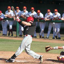 Husker Baseball: Kash Kalkowski singles