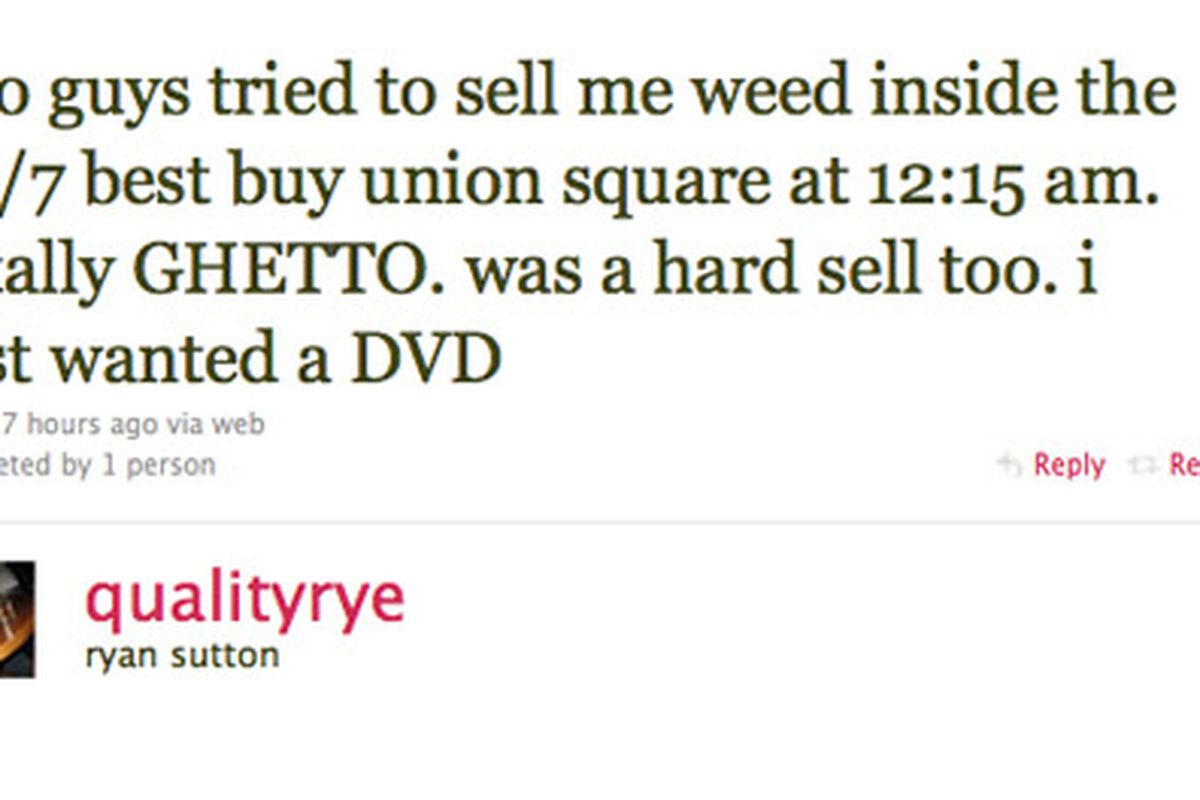 Get Your Weed at Union Square\'s Best Buy 24 Hours a Day - Racked NY