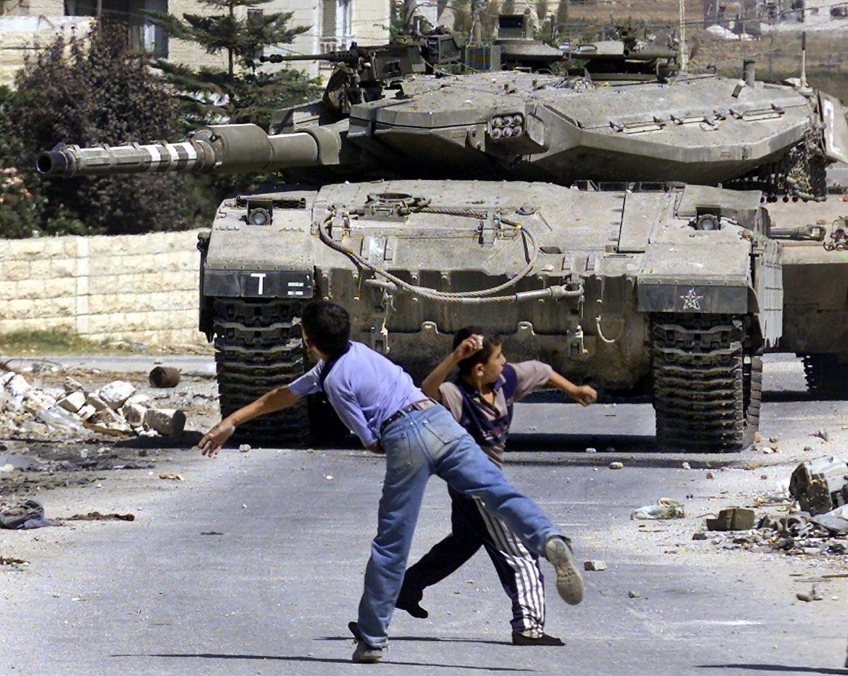 israel tank jenin 2003 SAIF DAHLAH/AFP/Getty Images