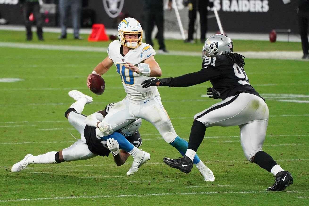 NFL: Los Angeles Chargers at Las Vegas Raiders