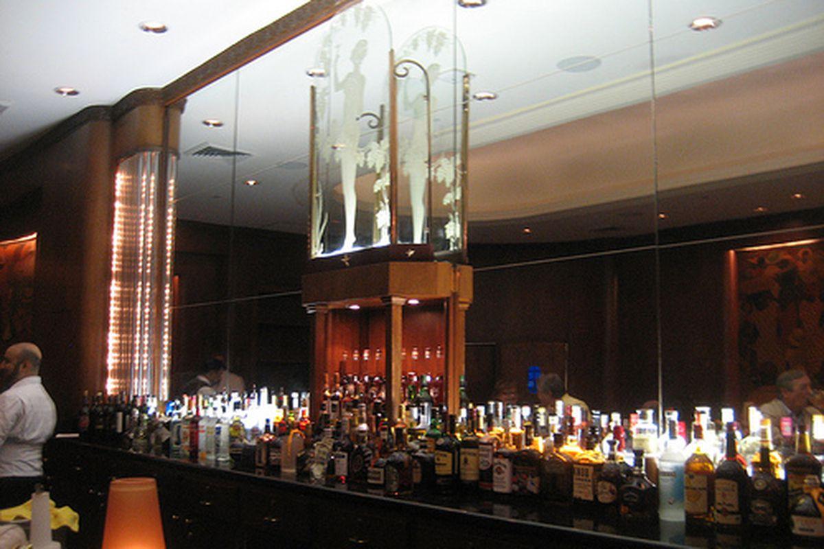 The Sazerac Bar at the Roosevelt Hotel.