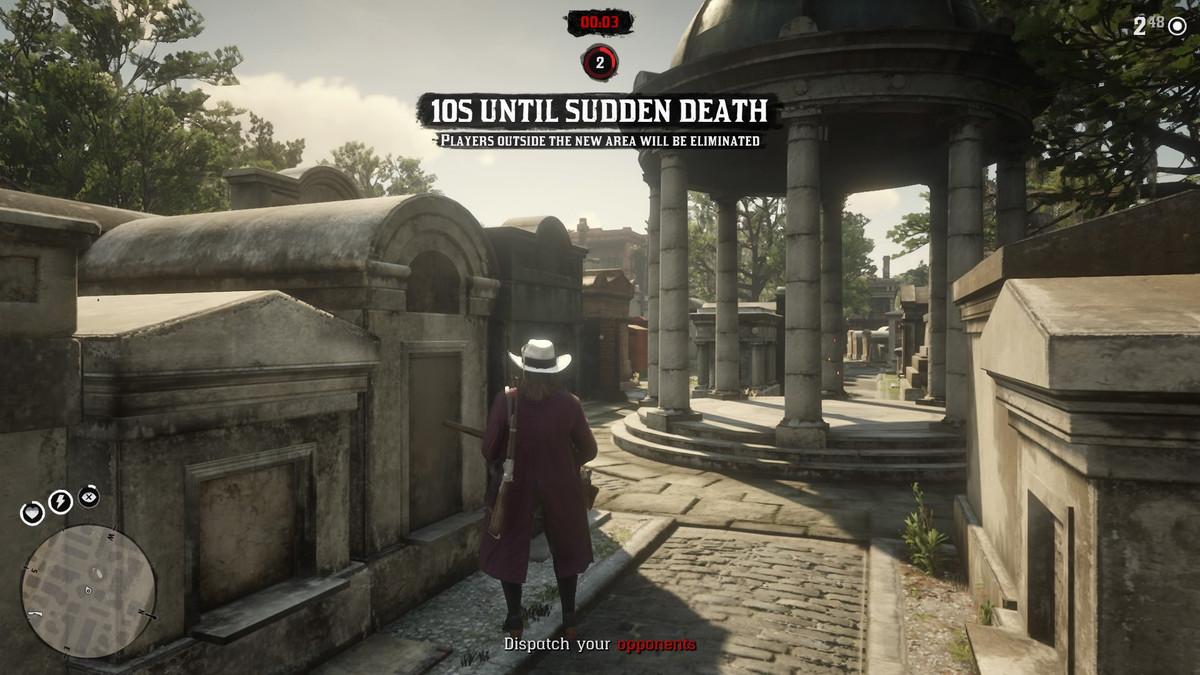Red Dead Online的Last Stand是游戏中最好的摊牌模式