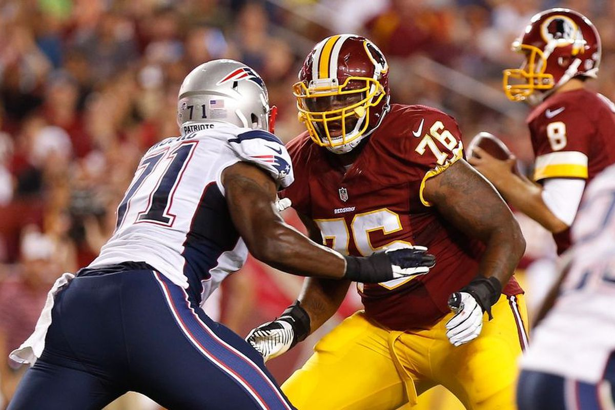 Redskins Inactives for Jaguars Game Morgan Moses Active for