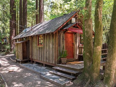 This tiny house comes with a pirate treehouse for $300K