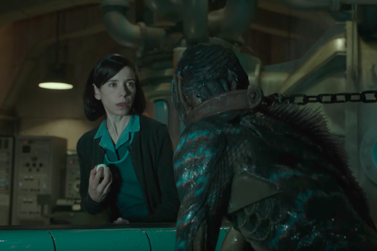 the shape of water s new trailer features angry scientists a sea monster and love