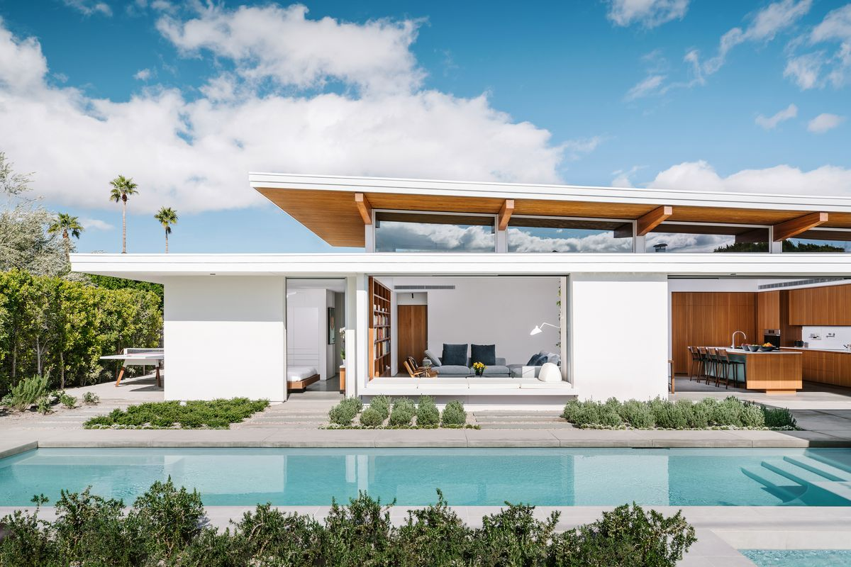 Modern Palm Springs Prefab Can Be Bought And Replicated Curbed