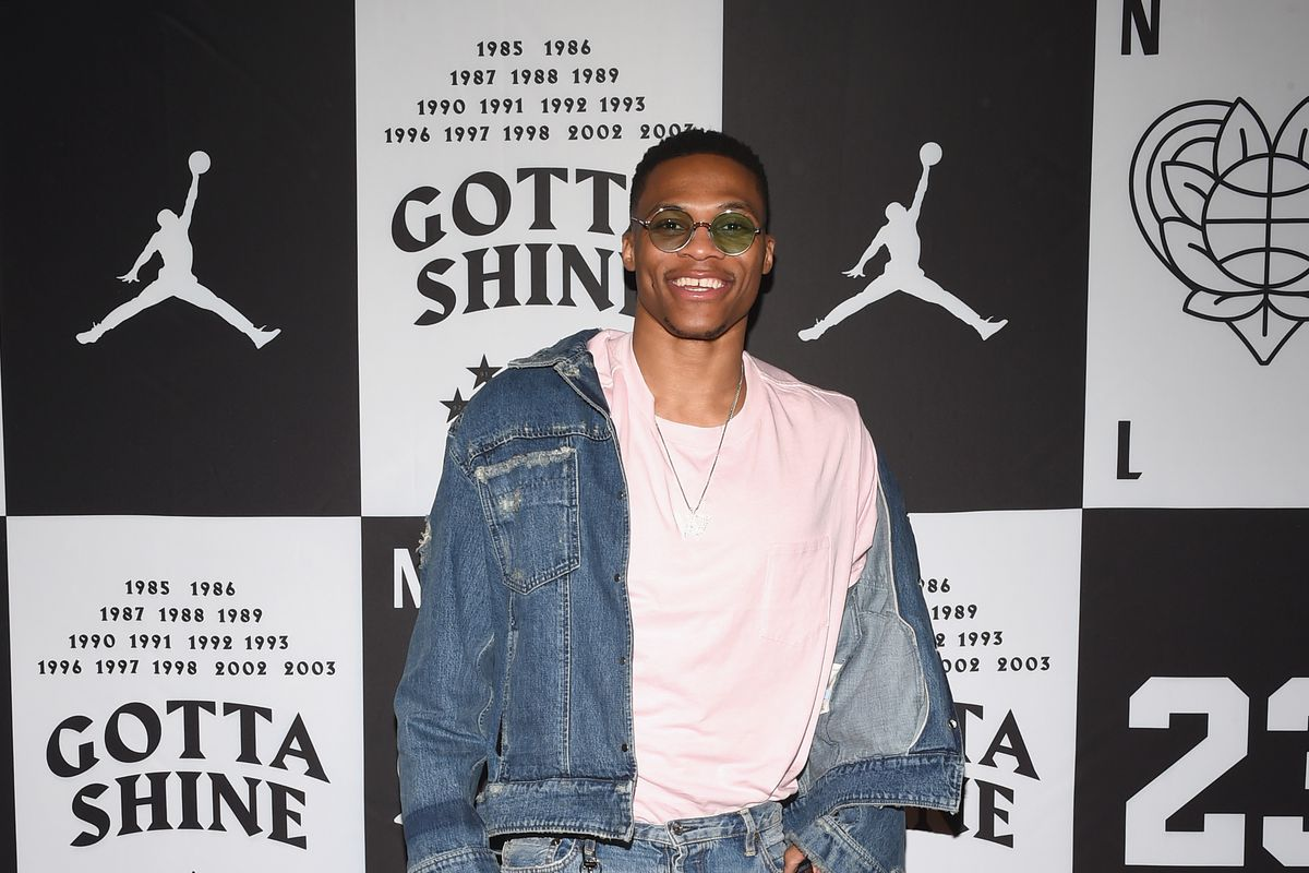 Russell Westbrook shoe deal  10-year contract makes him the new face ... 8e39b0fbffa7