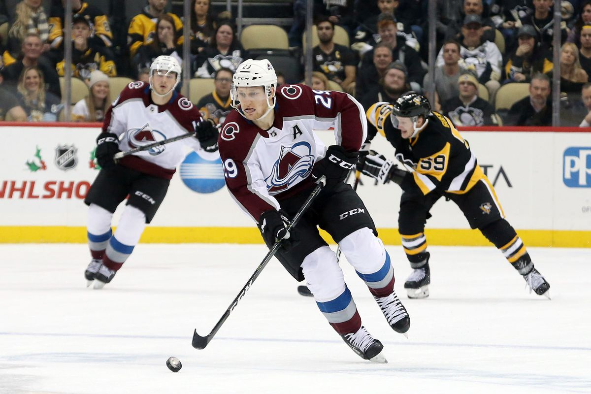 NHL: Colorado Avalanche at Pittsburgh Penguins