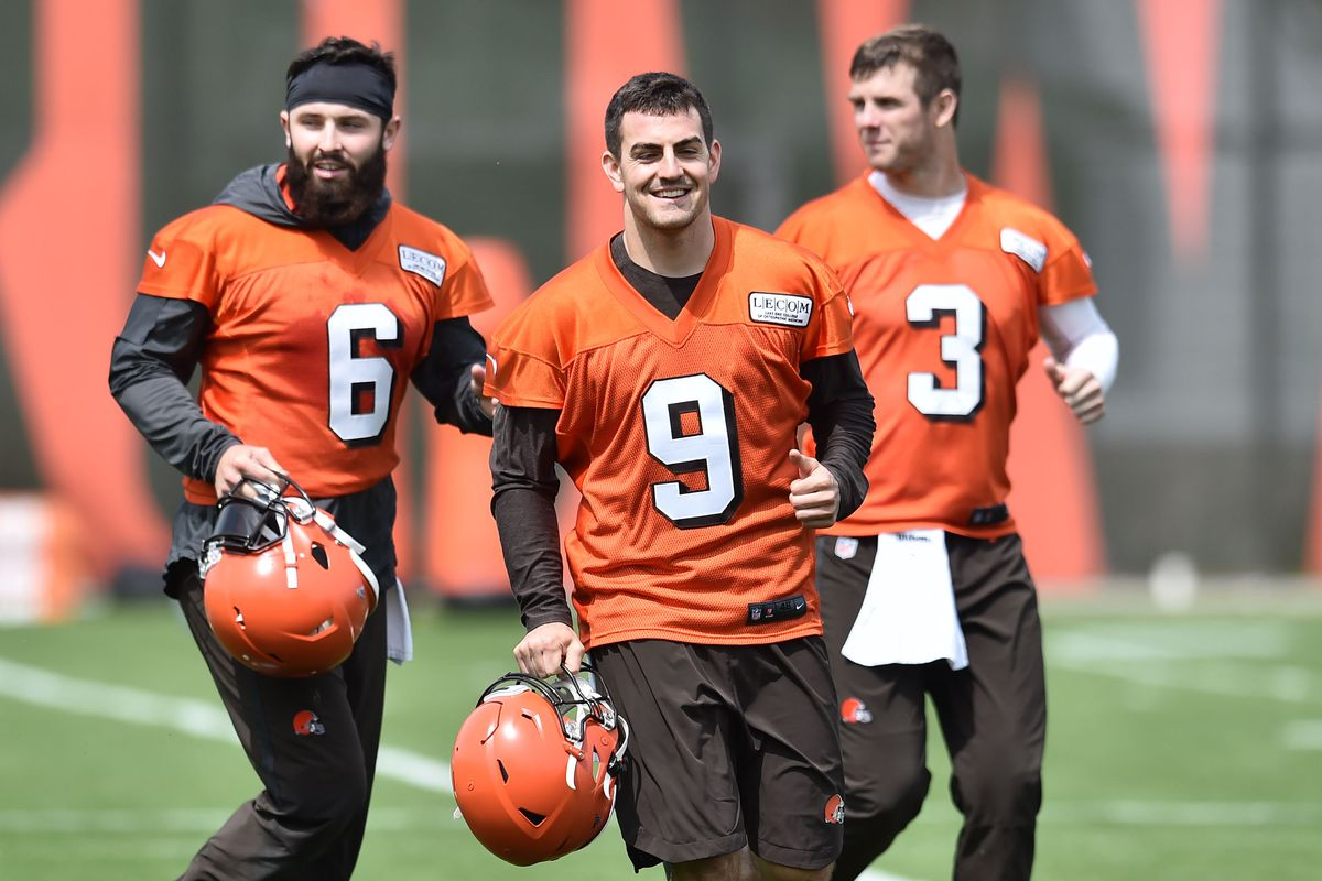 finest selection 6f8fb 2717c Cleveland Browns Training Camp 2019: QB Preview - Dawgs By ...