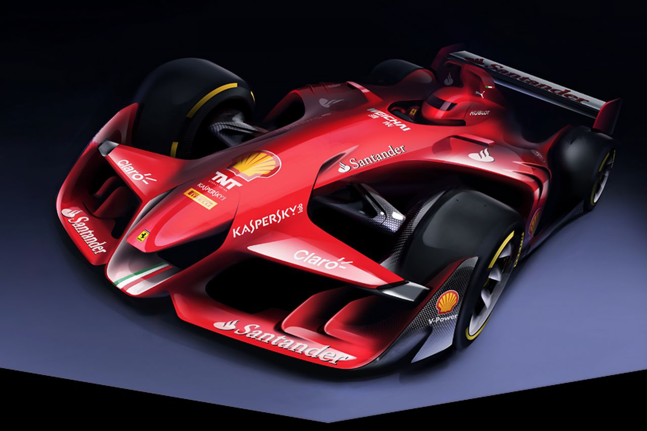 This Is Ferrari S Bold Vision For The Future Of Formula One The Verge