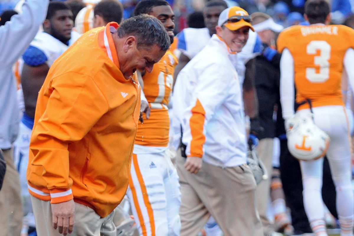 Even With This Guy As Our Defensive Coordinator, We Beat Kentucky