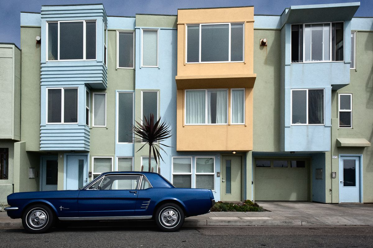 Homes of the Outer Sunset.