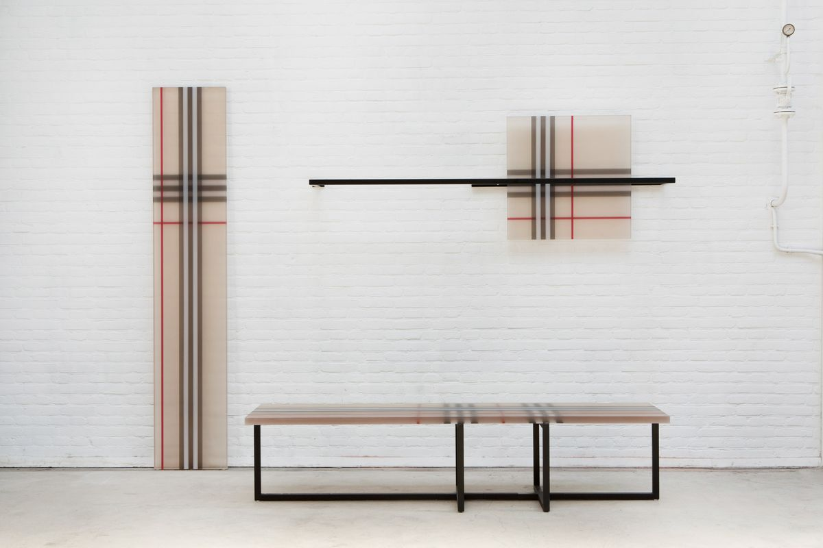 4db845953565 Burberry plaid becomes furniture at Opening Ceremony - Curbed