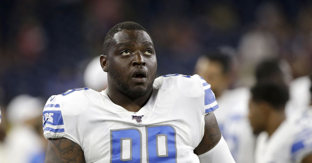 Lions sign DT John Atkins from practice squad, waive WR Tom Kennedy