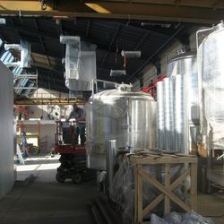 Brewery side.