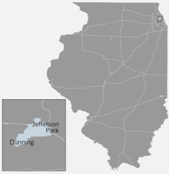 Illinois House 19th District covers the Chicago neighborhoods of Jefferson Park and Dunning, as well as Harwood Heights   Tanveer Ali/Sun-Times
