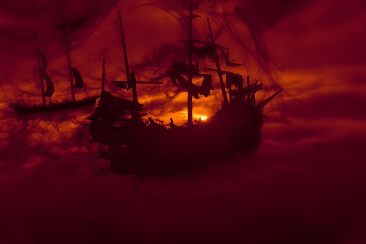 A glimpse of Cursed Sails' expac content.