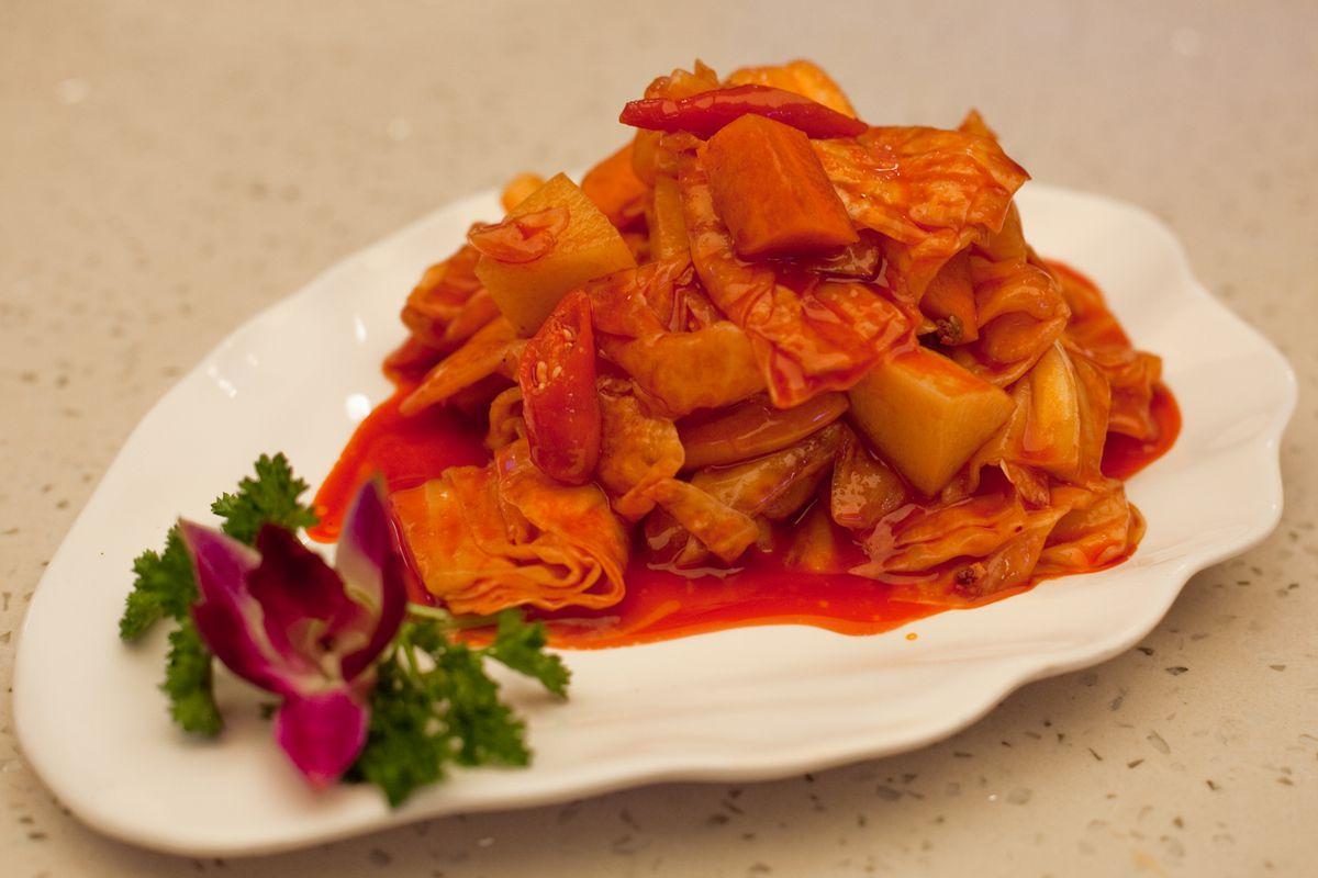 Flaming Kitchen pickled vegetables