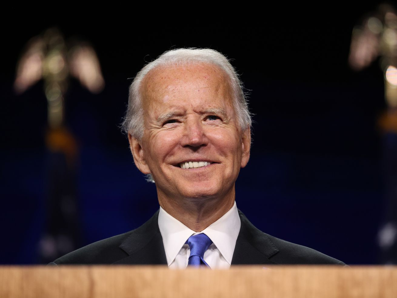 Then-candidate Joe Biden at the Democratic National Convention on August 20, 2020.