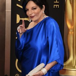 """""""<strong>Liza Minnelli</strong> always gets a pass because she is an icon and amazing. However, this look was anything but iconic. That whole look was very granny Smurf goes to a rave.  I didn't mind the hair, but if she wants to do punk-comfy-cool, she s"""