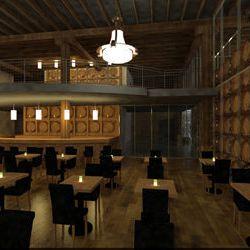 The dining bar