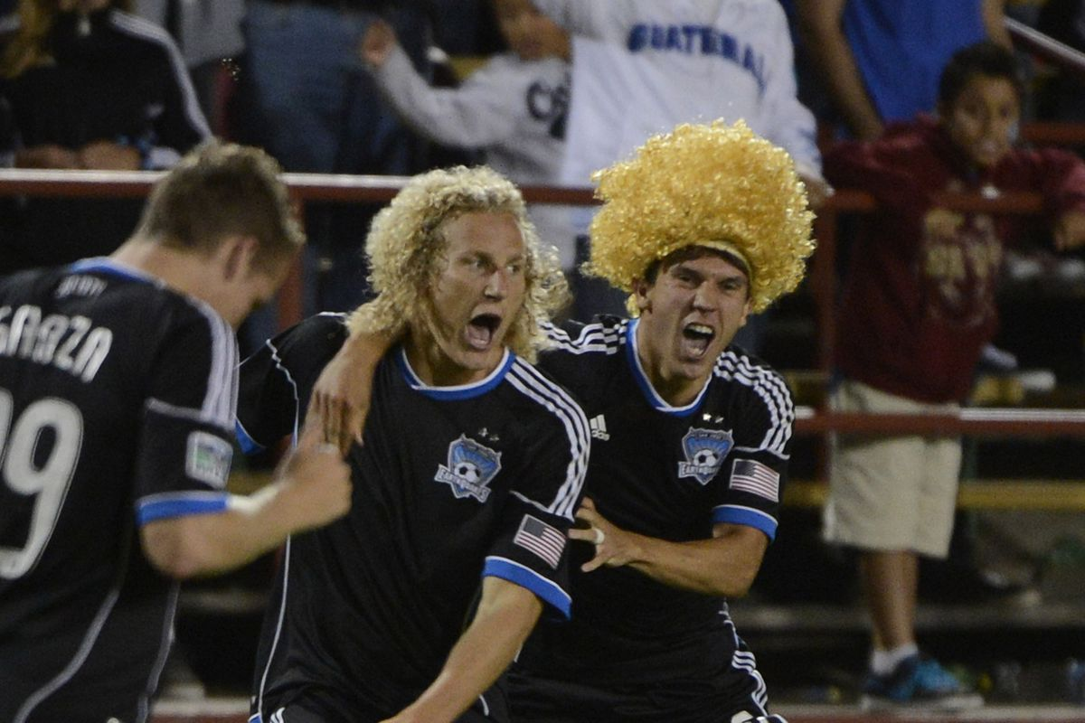 When last we played at Buck Shaw Stadium, Steven Lenhart scored in something like the 14th minute of second-half stoppage time to draw the game. Yeah, we can't stand that dude.