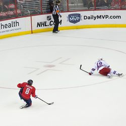 Ovechkin Scores a Power Play Goal