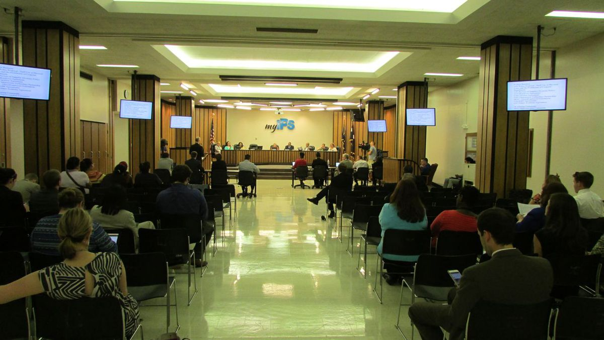 The Indianapolis Public School Board approved hiring a new talent officer in May.