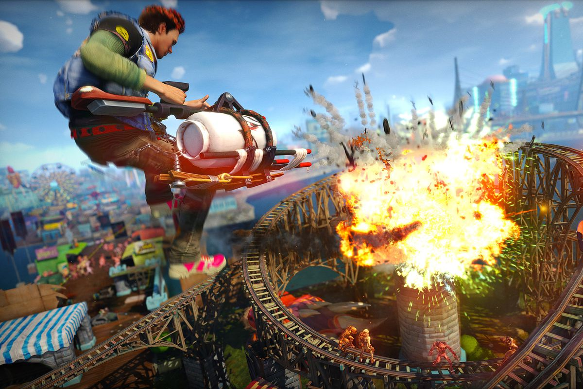 This Saturday Microsoft Is Letting All Xbox Live Gold Members Play Sunset Overdrive For Free Day And Its The Full Game Youll Get To Experience