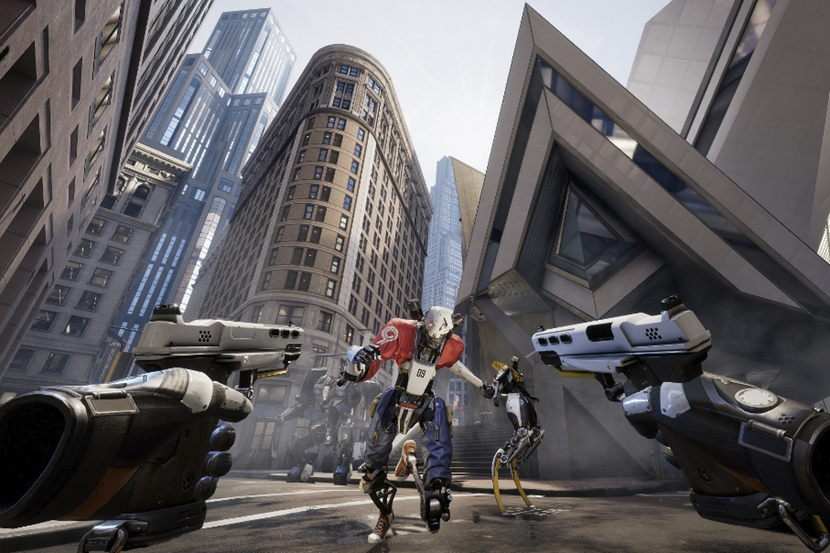 Robo Recall is the full version of Bullet Train you've been