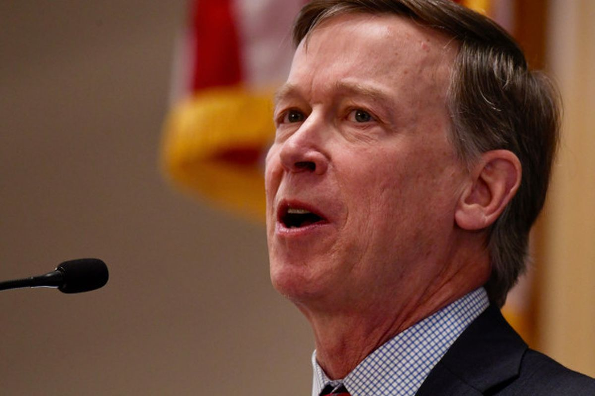 Gov. John Hickenlooper delivered his State of the State speech on Jan. 11.