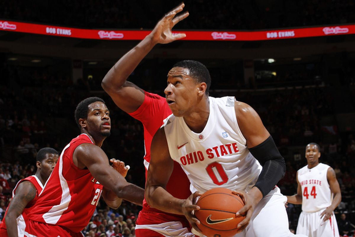 Sullinger, double teamed often in college, has developed great passing skills for a big man.